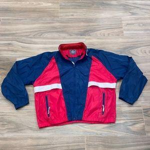 VTG 90's Woolrich Windbreaker Jacket, Size: XL